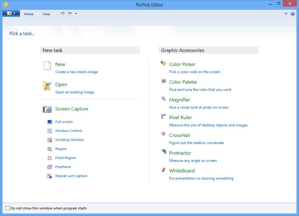 تحميل برنامج تحرير وإنشاء الصور المجاني والمميز PicPick v3.2.9