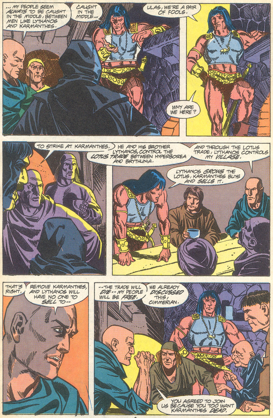 Conan the Barbarian (1970) Issue #231 #243 - English 7