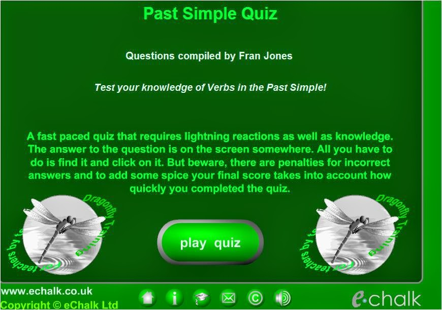 http://www.echalk.co.uk/English/grammar/pastSimple/pastSimple.html