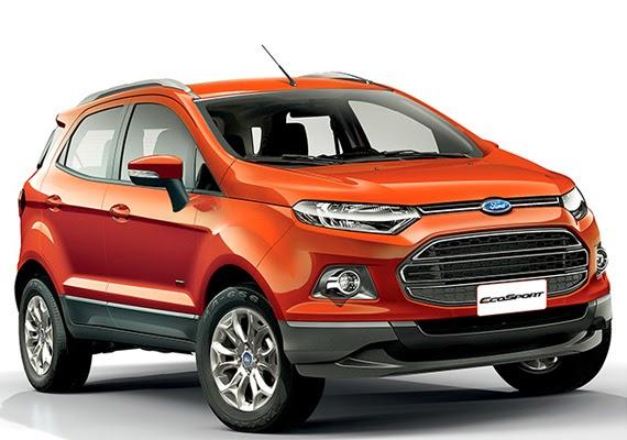 Novo Ford Ecosport 2014 Fotos