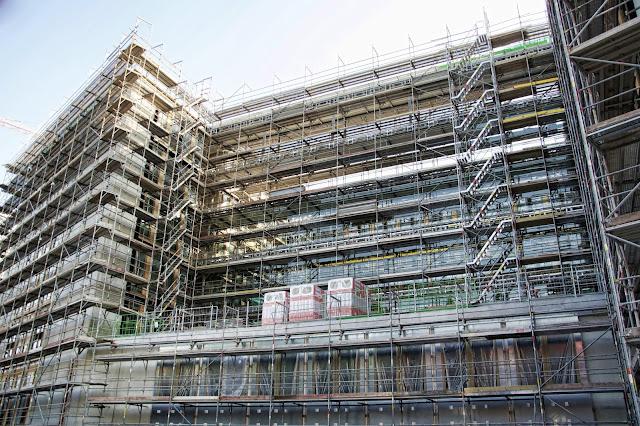 Baustelle Neubau des Bundesministeriums für Bildung und Forschung, Dienstsitz Berlin, Kapelle-Ufer 1, 10117 Berlin, 09.07.2013