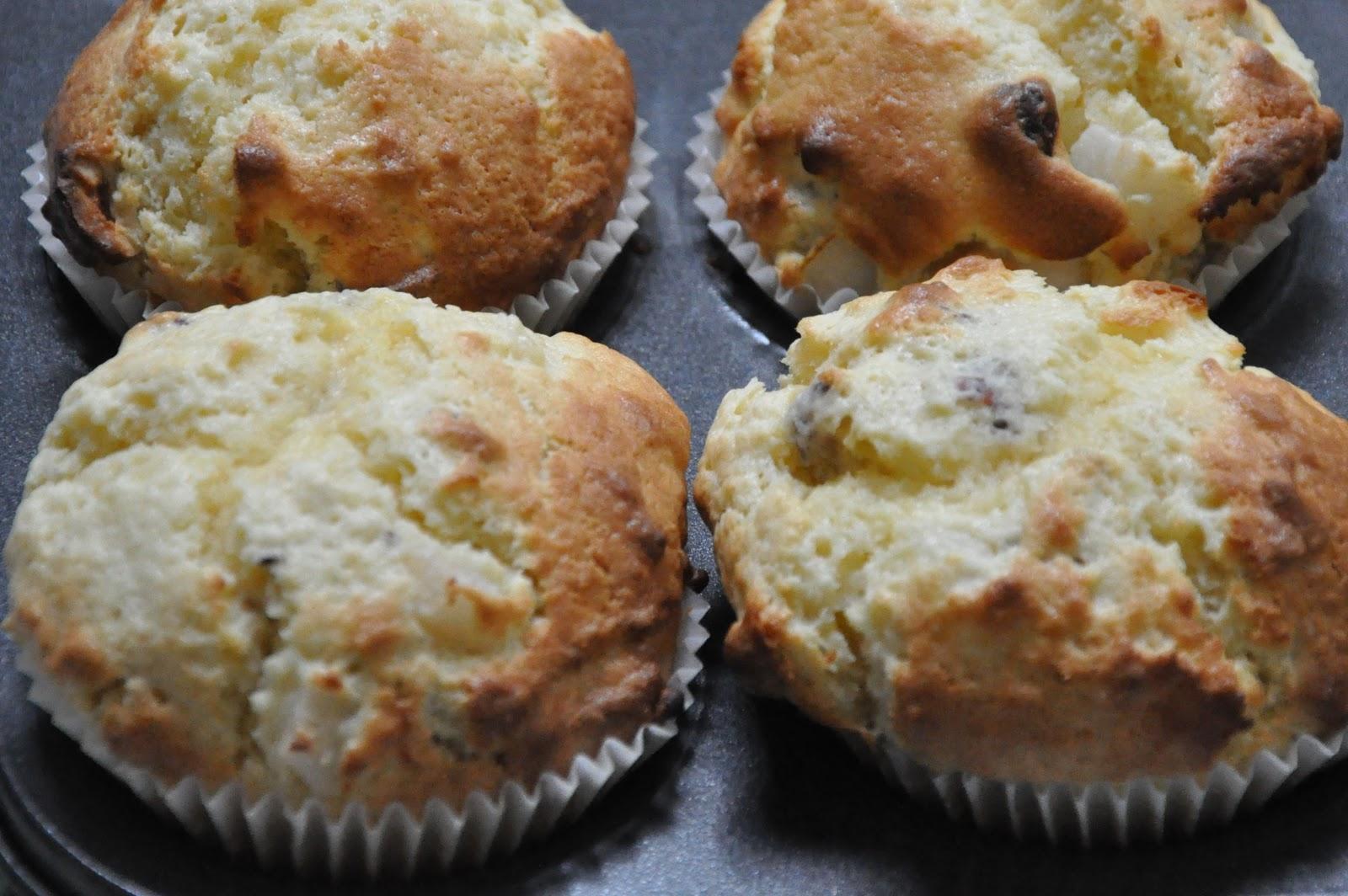 Recipe Rifle: Pear and hazelnut muffins