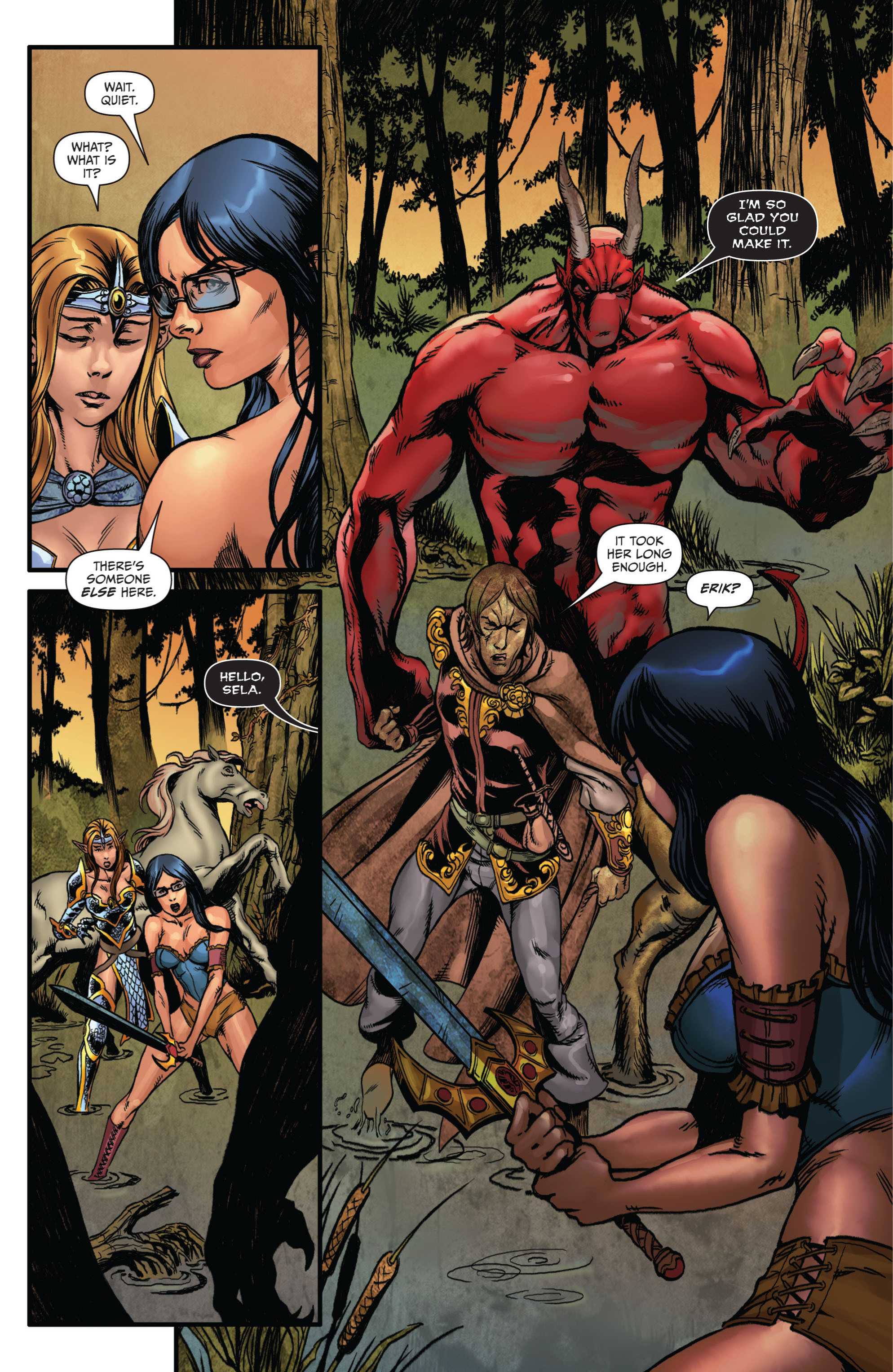 Grimm Fairy Tales (2005) Issue #73 #76 - English 12