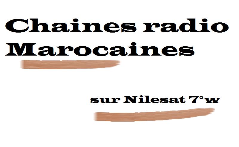 تردد قنوات الراديو المغربية Fr 233 Quences Chaines Radio
