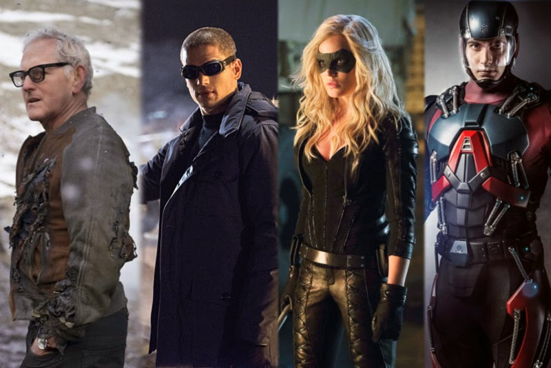 The CW está preparando un spin off con personajes de Arrow y The Flash