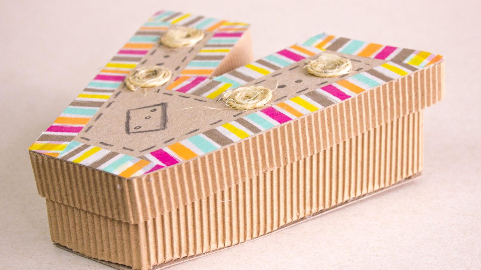 Como hacer cajitas en forma de letras jeguridos - Como hacer cajitas de cartulina ...