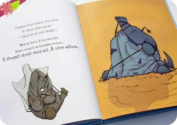 Rhino vole ! de Ryan Higgins - éditions Père Fouettard