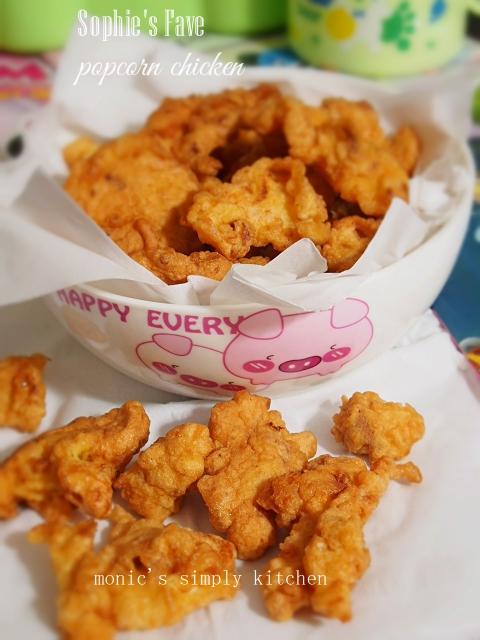 resep mudah popcorn chicken