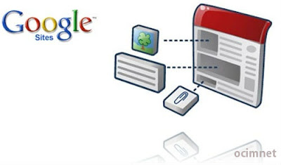 Google Sites Websites Gratis dari Google