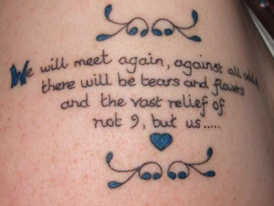 Poem tattoo ideas for the arm