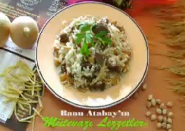 Ramazan Pilavı Nasıl Yapılır - Banu Atabay yapılışını anlatıyor