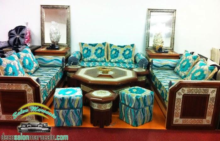 Nouvelle conception salon marocain 2014