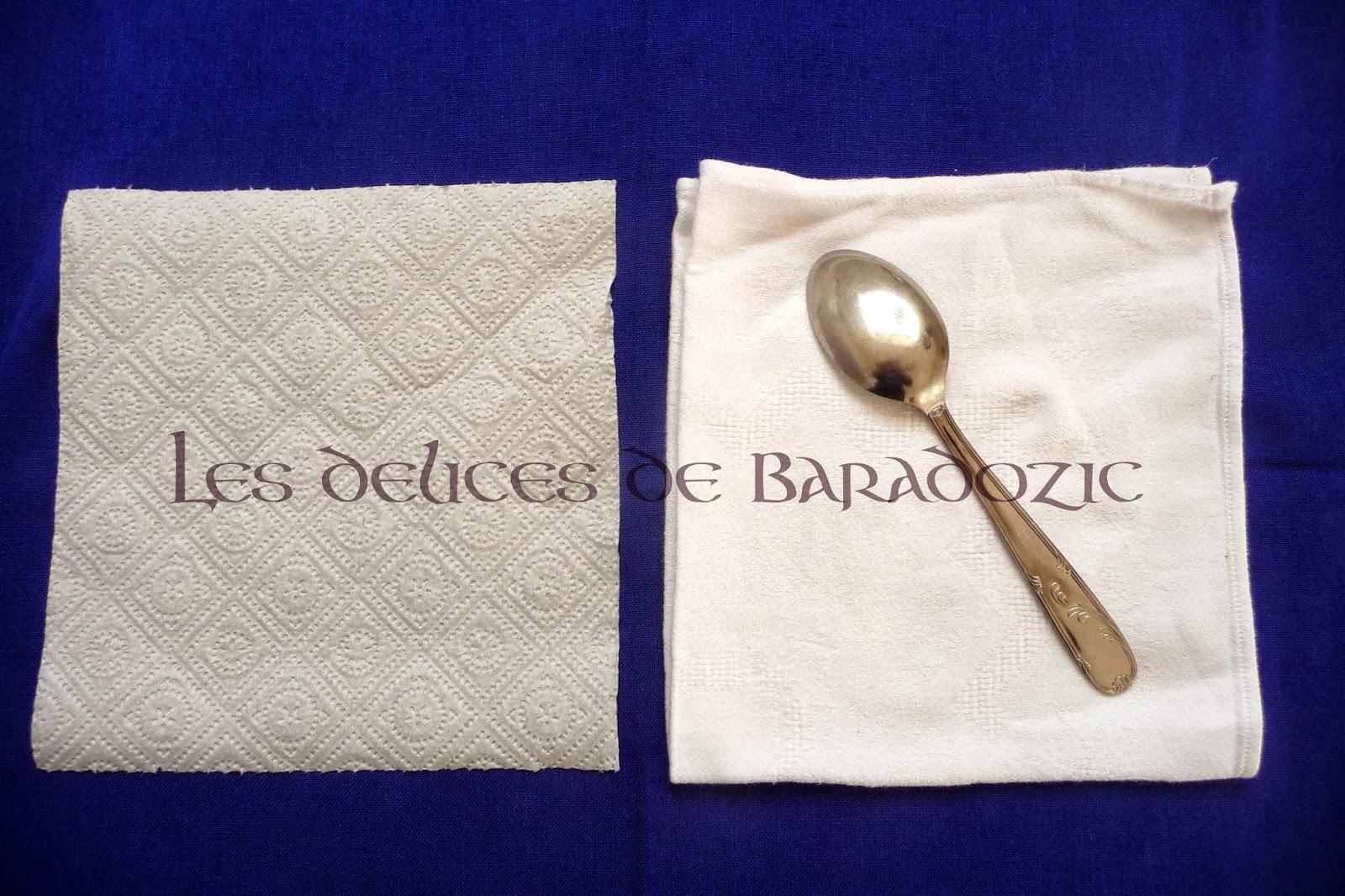 Plier une serviette en momie les d lices de baradozic - Plier une feuille en 3 ...