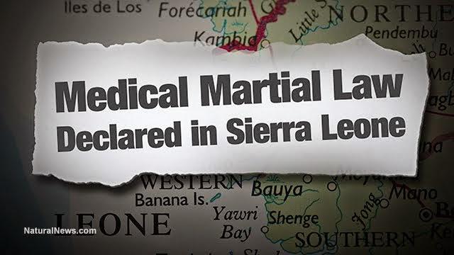 EBOLA: SIERRA LEONE EMANA LEGGE MARZIALE