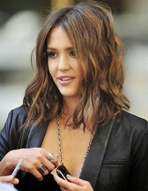 cabello Jessica Alba