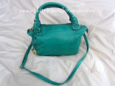 Emilie M Blair Small Satchel