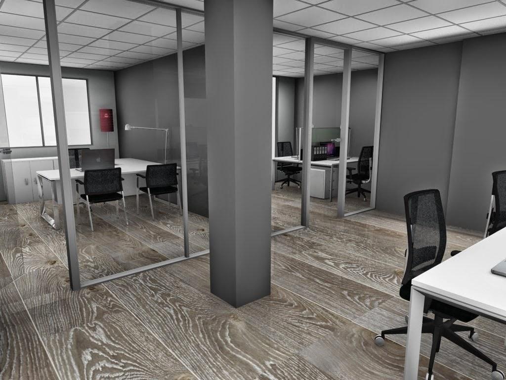 Oficina total proyectos de oficina en 3d for Muebles de oficina ocasion barcelona