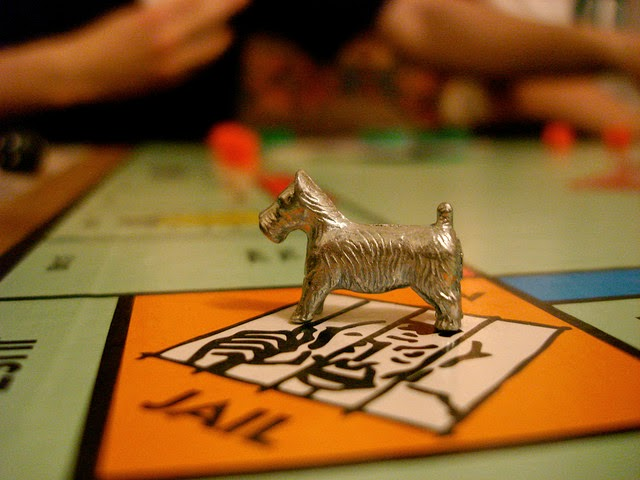 Playing Monopoly at Gordon's
