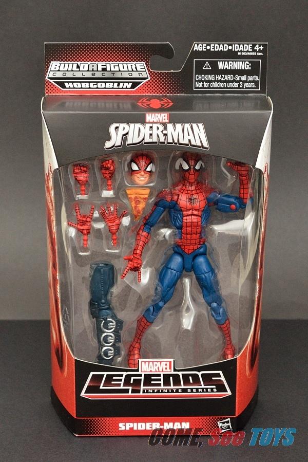 Half Spider Half Man Come, See Toys: Marvel...