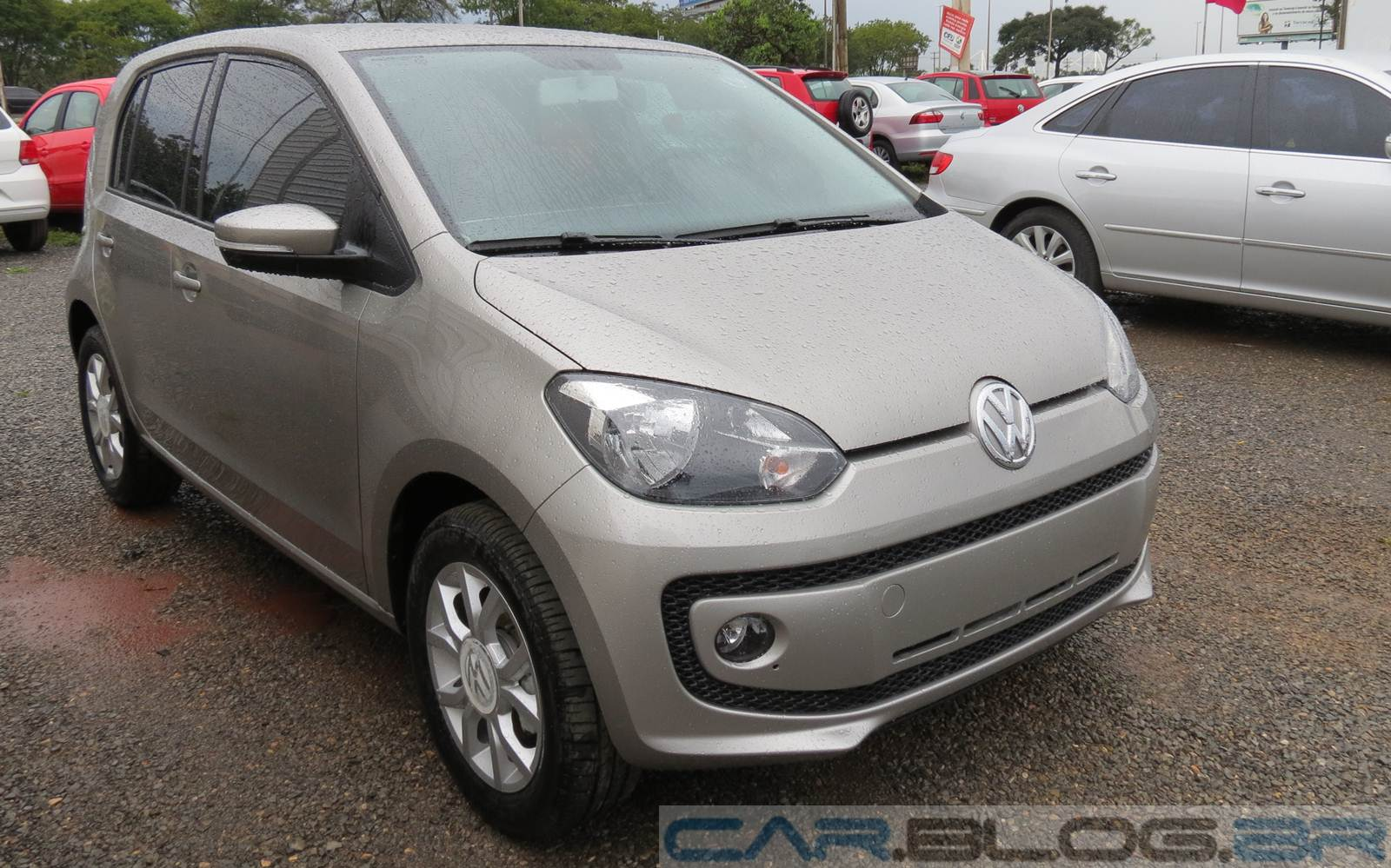 Volkswagen up! - High up! - Prata Egito