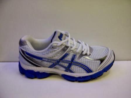 Jual Sepatu Asics Harga Grosir biru putih
