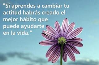 Imagen Si Aprendes A Cambiar Tu Actitud (Imagenes para Facebook)