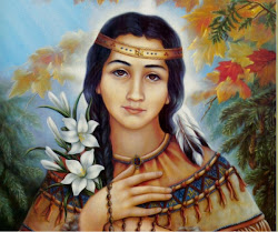 Saint Kateri Tekakwitha - Pray for us