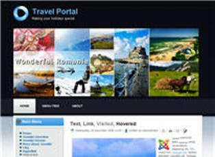 Travel Portal Joomla 1.7 Template