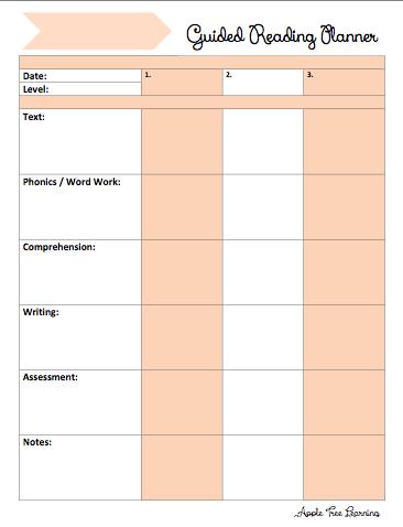 3 Student GR Planner