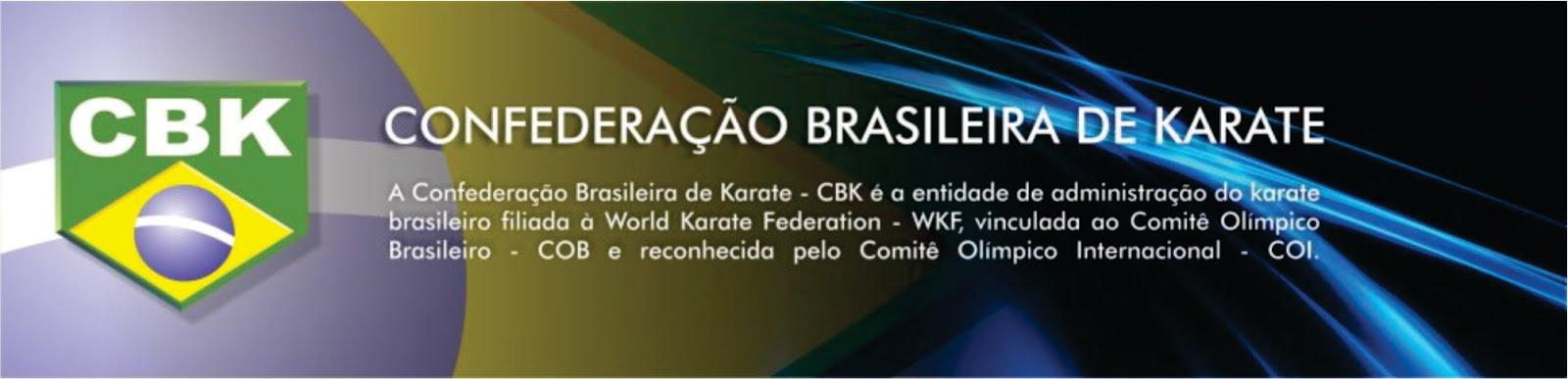 CONFEDERAÇÃO BRASILEIRA DE KARATE-CBK
