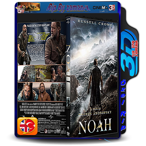 NOAH | 3D | 2014 | BLURAY RiP | 1080p | AC3 DUAL 5.1 AUDiO | TR/ENG  2.6 GB