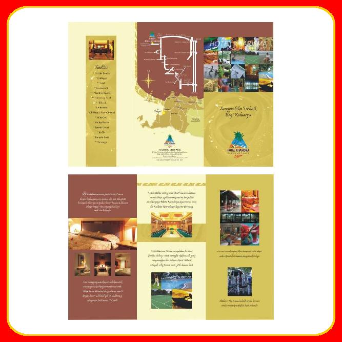 contoh brosur hotel