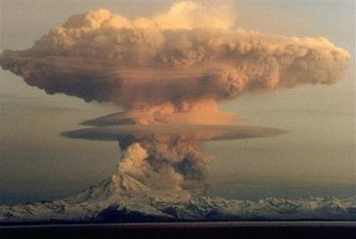 G-d's A-Bomb, Volcanic Eruption