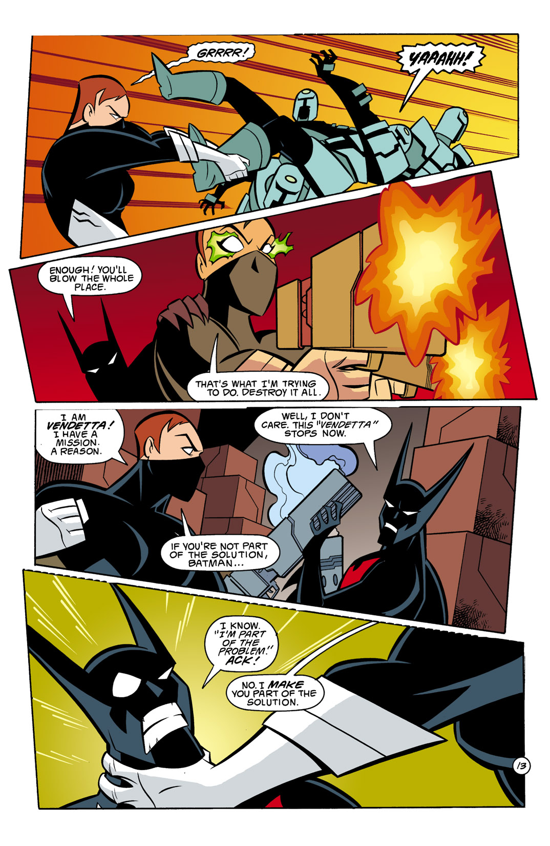 Batman Beyond [II] Issue #8 #8 - English 14