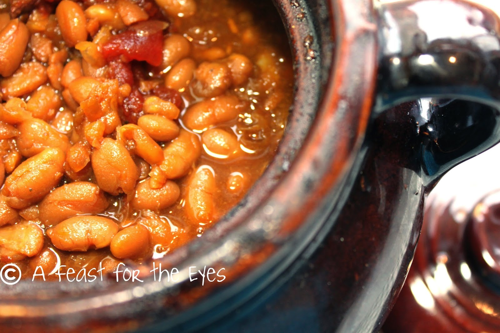 Feast for the Eyes: Boston Baked Beans-- Bake 'em Low and Slow!