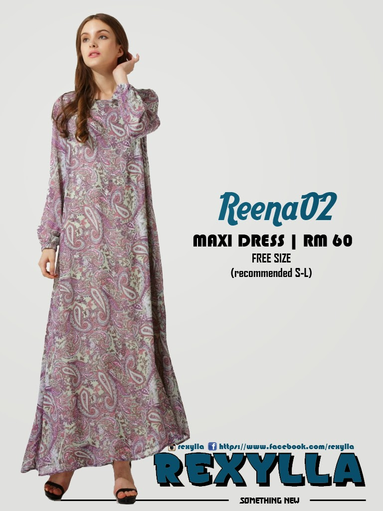 rexylla, maxi dress, printed dress, reena02