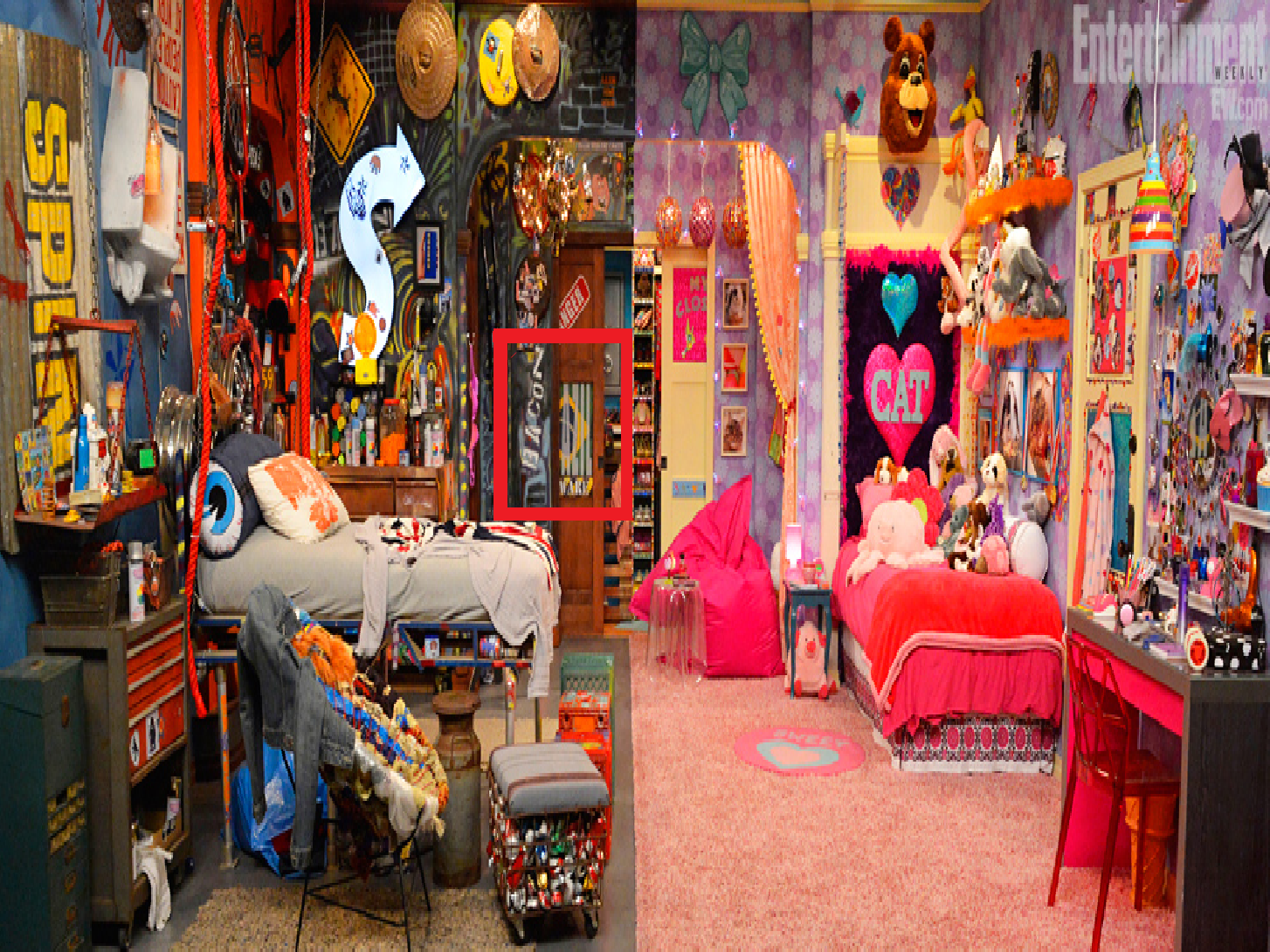 victorious cats bedroom the sam and cat bedroom