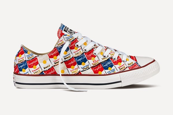 Converse All Star Andy Warhol Spring 2015 Collection, tomato soup, chuck taylor, high top, shoes, sneakers, limited edition, pop art, fashion, style, toronto, ontario, canada, the purple scarf, melanie.ps