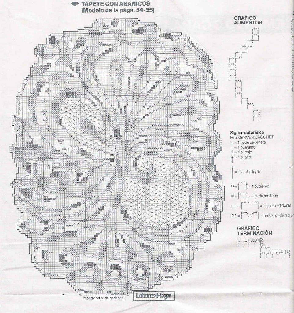 Салфетки филейное вязание крючком схемы с описанием