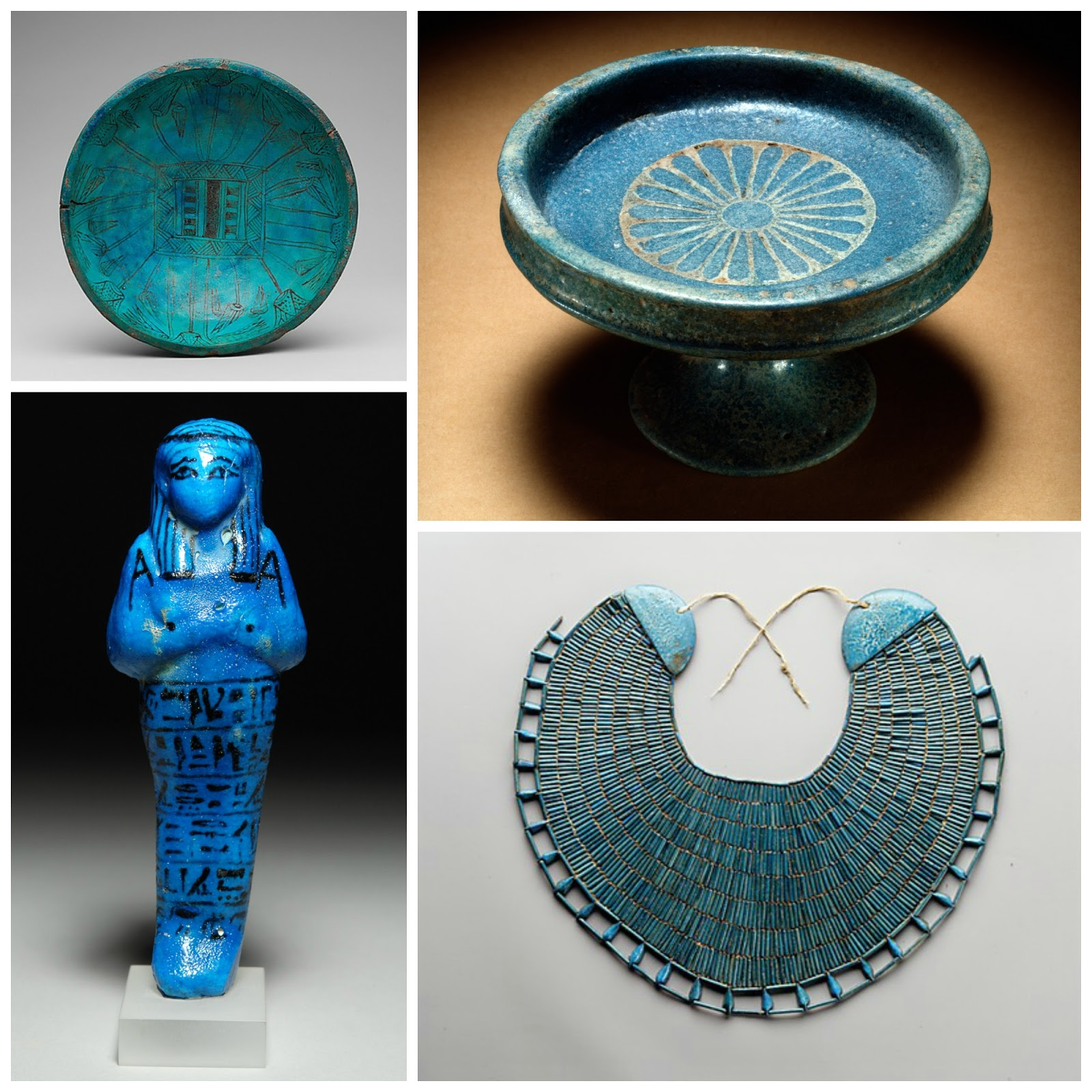 Art Jewelry Elements Folklore Friday Faience Of Egyptian Amulets