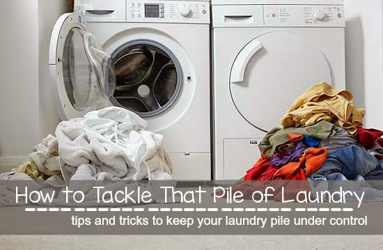 How to Tackle That Pile of Laundry- Tips and Tricks to Keeping it Under Control