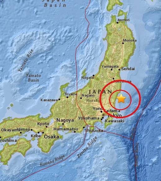 Magnitude 4.5 Earthquake of Takahagi, Japan 2015-04-16