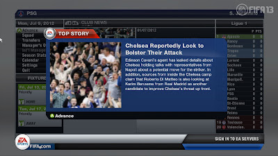 FIFA 13 Career Mode - Team Bolster News Flash