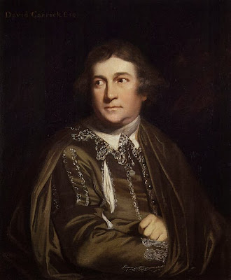 David Garrick as Kitely in 'Every Man in his Humour, by Sir Joshua Reynolds