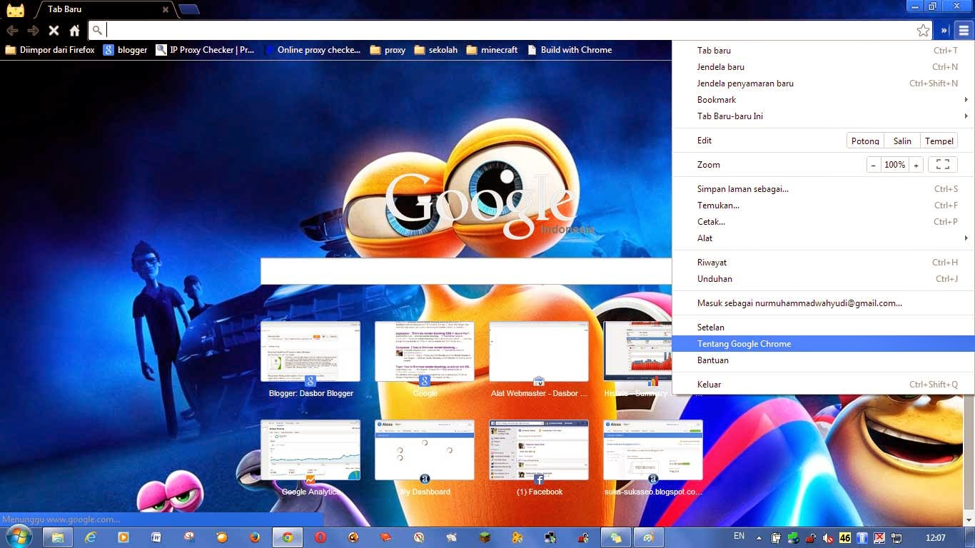 Mengatasi Google Chrome yang Tidak Dapat di Update