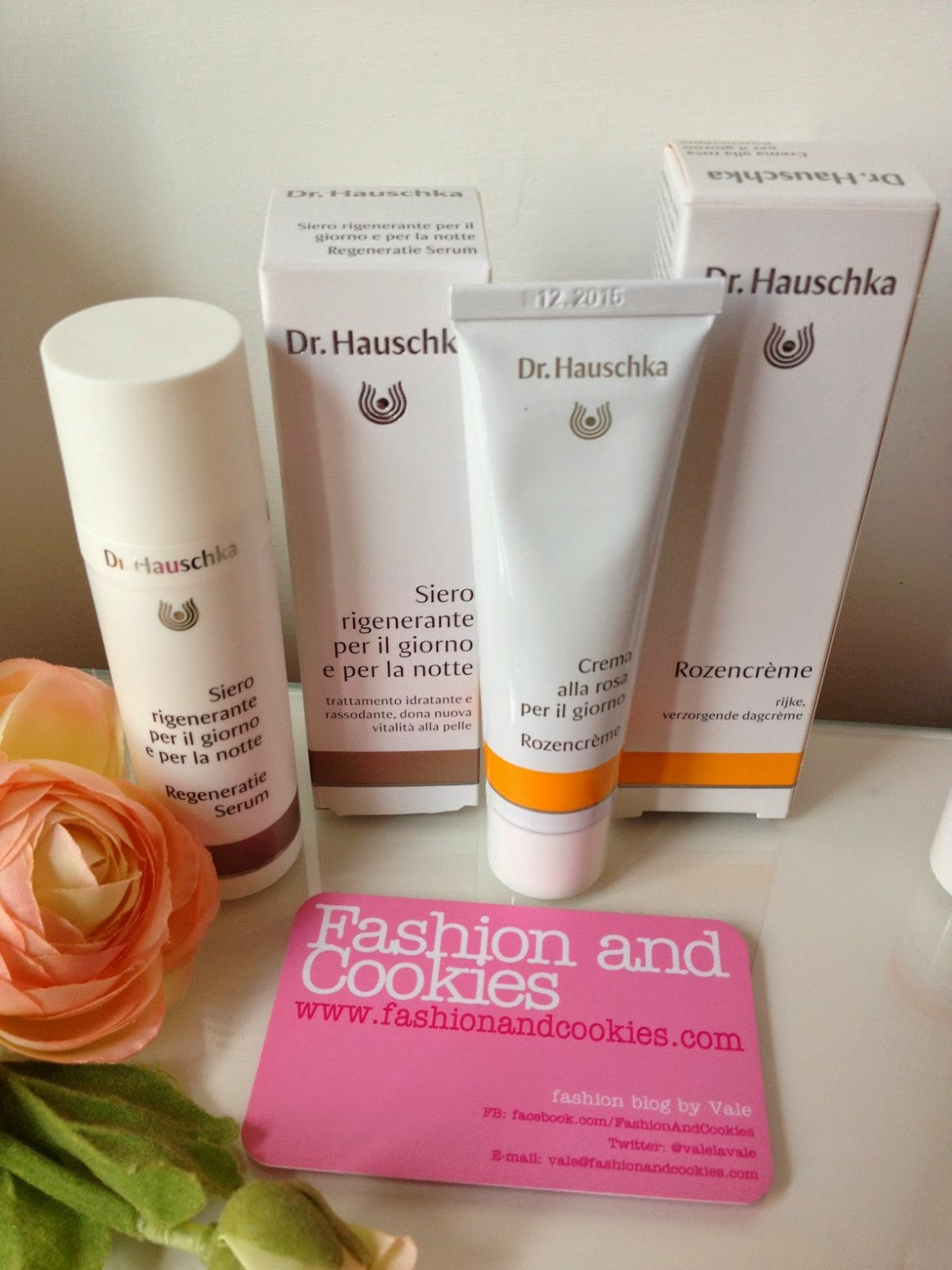Dr Hauschka regenerating serum review, Dr Hauschka rose day cream, haul, Fashion and Cookies, fashion blogger