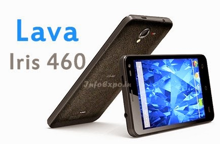 Lava Iris 460: 4.5-inch, 1.3GHz Dual Core, Android KitKat Phone Specs,Price