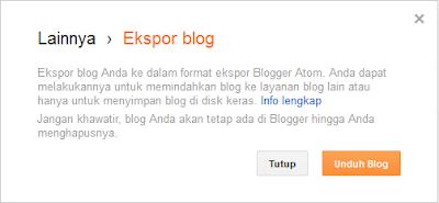 Memindahkan Seluruh Postingan Blog Ke Blog Lain