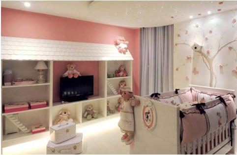 Fotos y dise o de dormitorios todos los estilos for Decoracion de cuarto para nina recien nacida