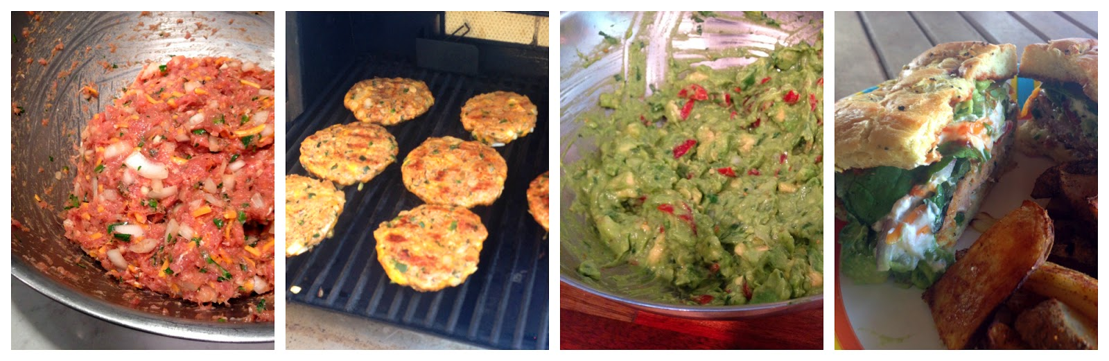 ... : PYRC #57: Cheddar Jalapeno Chicken Burgers with Homemade Guacamole